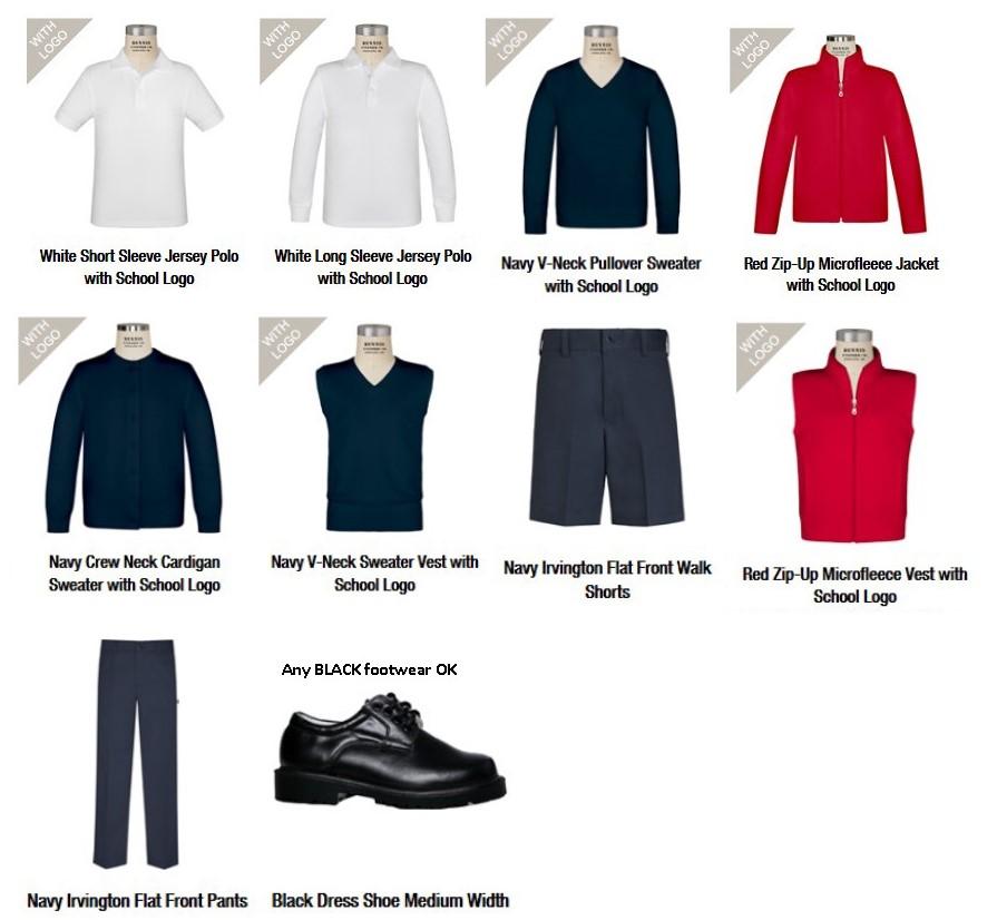 Uniforms Bellevue Childrens Academy